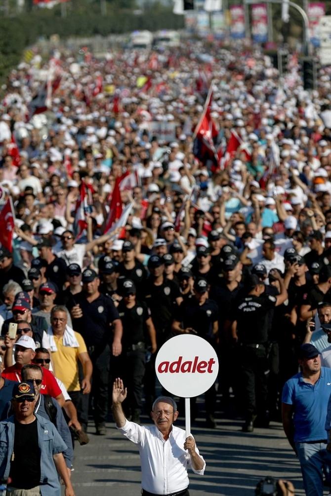 Adalet Yürüyüşü'ne damga vuran fotoğraflar 91