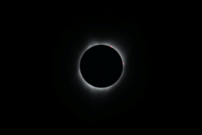 Güneş tutulmasından muhteşem kareler 33