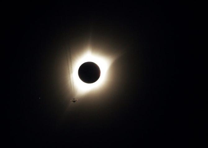 Güneş tutulmasından muhteşem kareler 46