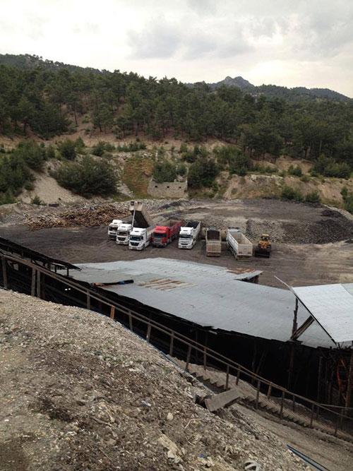 Karaman'daki facianın olduğu maden ocağı 1
