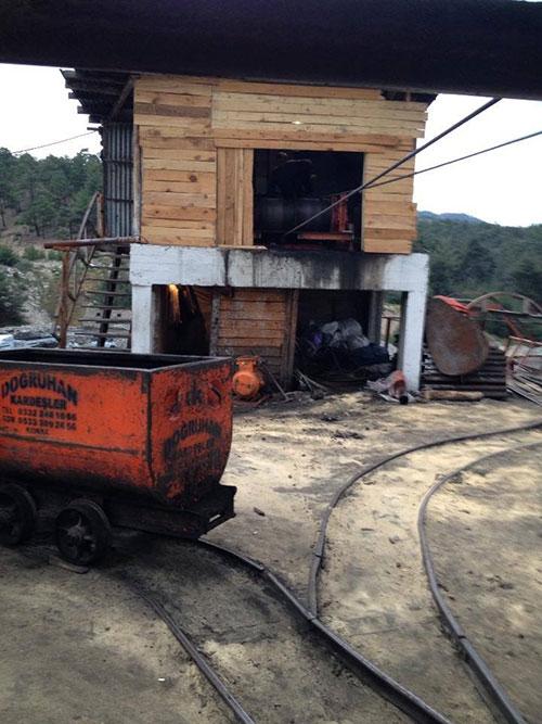 Karaman'daki facianın olduğu maden ocağı 2