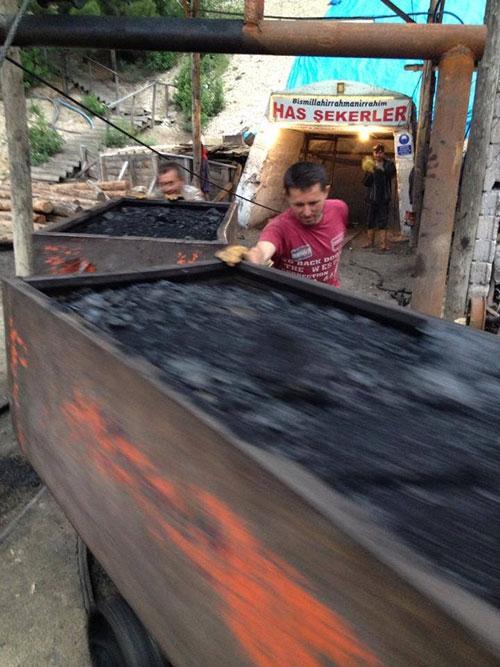 Karaman'daki facianın olduğu maden ocağı 8