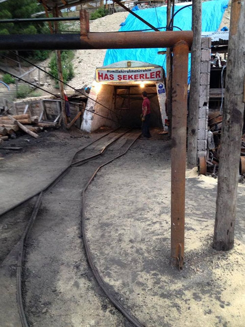 Karaman'daki facianın olduğu maden ocağı 9