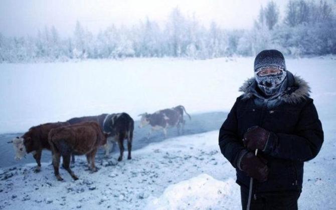 İşte dünyanın en soğuk noktası 1