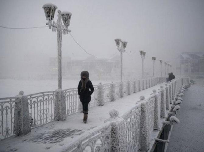 İşte dünyanın en soğuk noktası 12