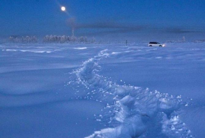 İşte dünyanın en soğuk noktası 7