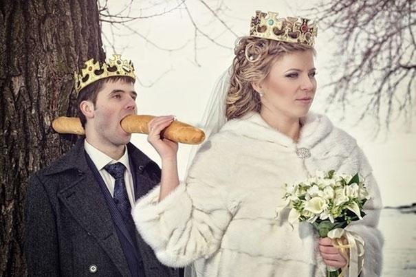 Beyninizi yakacak örneklerle Rusların evlilik fotoğrafları 1