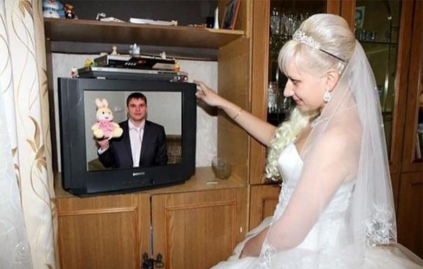 Beyninizi yakacak örneklerle Rusların evlilik fotoğrafları 11
