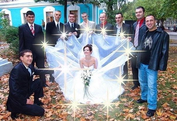 Beyninizi yakacak örneklerle Rusların evlilik fotoğrafları 15