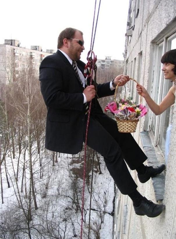 Beyninizi yakacak örneklerle Rusların evlilik fotoğrafları 19
