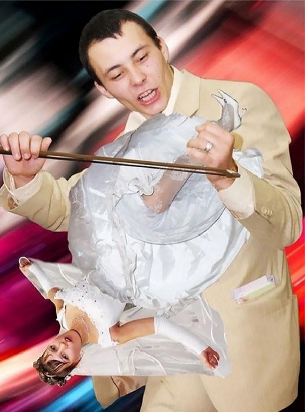 Beyninizi yakacak örneklerle Rusların evlilik fotoğrafları 20