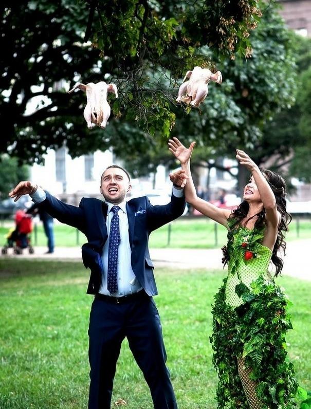Beyninizi yakacak örneklerle Rusların evlilik fotoğrafları 25