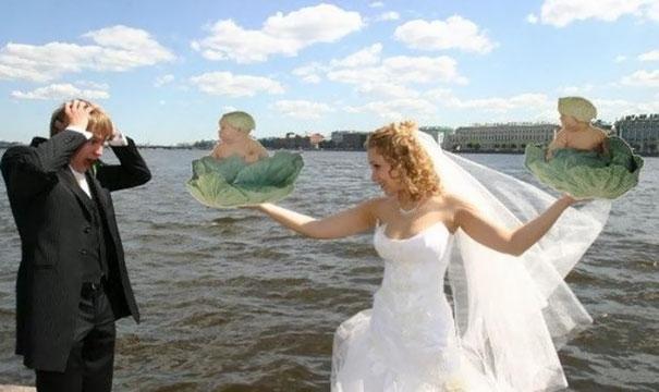 Beyninizi yakacak örneklerle Rusların evlilik fotoğrafları 3