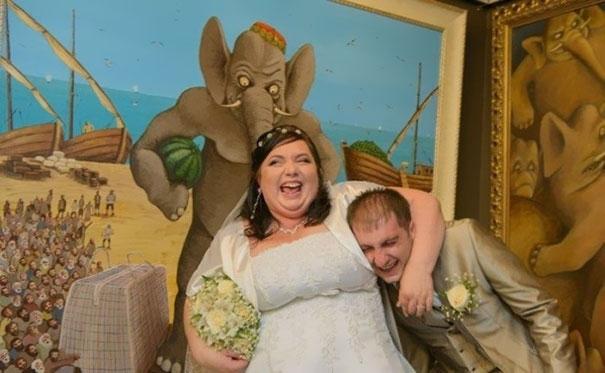 Beyninizi yakacak örneklerle Rusların evlilik fotoğrafları 6