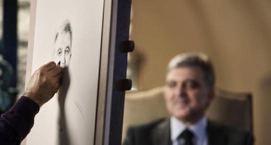 Gül'ün yayınlanmamış fotoğrafları 'A Protokol' de 8