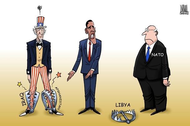 Karikatürlerle Arap Baharı 1
