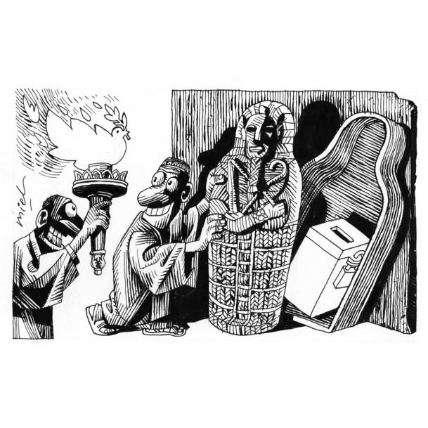 Karikatürlerle Arap Baharı 15