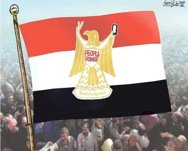 Karikatürlerle Arap Baharı 16