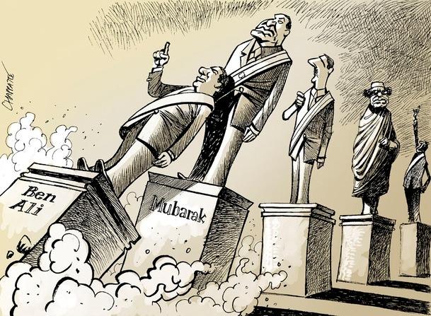Karikatürlerle Arap Baharı 17