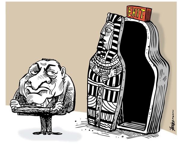 Karikatürlerle Arap Baharı 18