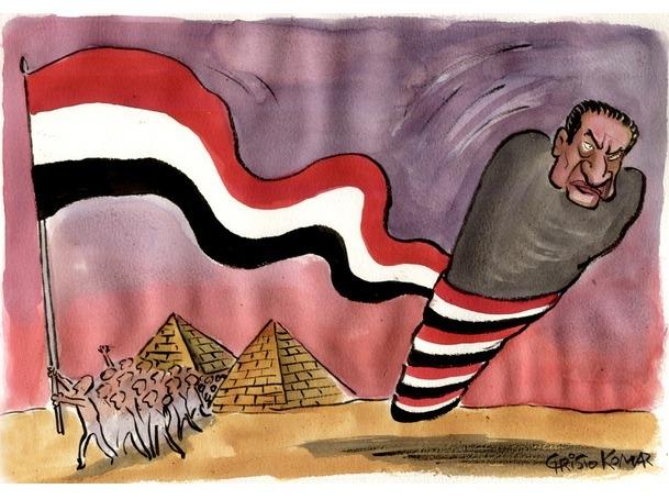 Karikatürlerle Arap Baharı 3