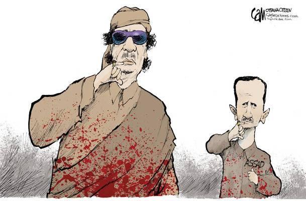 Karikatürlerle Arap Baharı 5