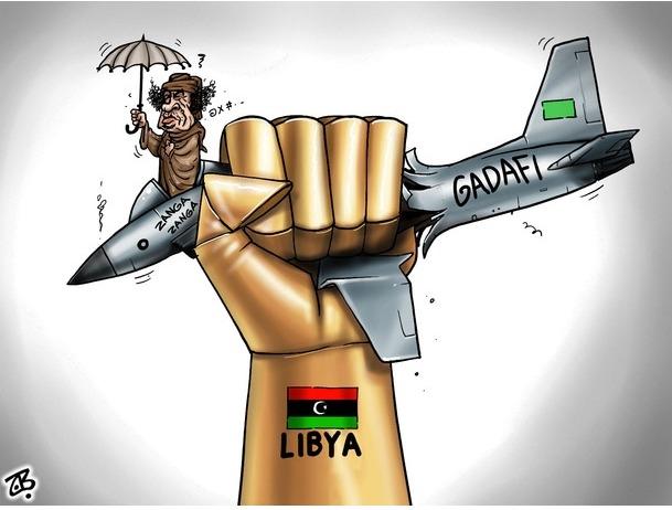 Karikatürlerle Arap Baharı 6