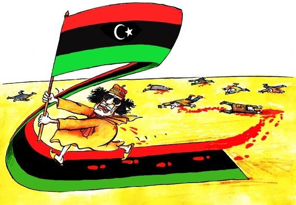 Karikatürlerle Arap Baharı 7