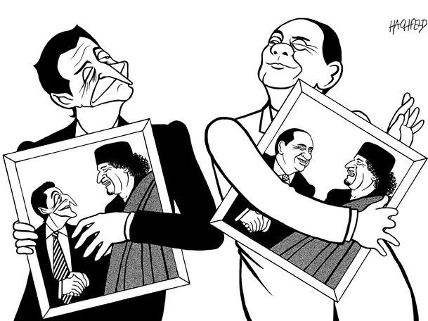 Karikatürlerle Arap Baharı 8