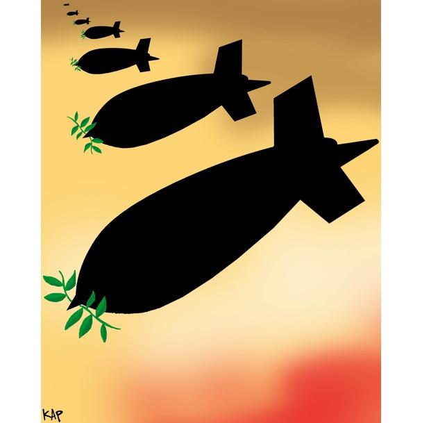 Karikatürlerle Arap Baharı 9