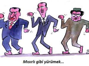Karikatürlerle Arap Baharı