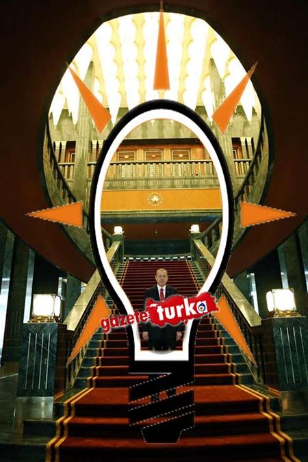 AK Saray'daki AK Parti Logosu 1