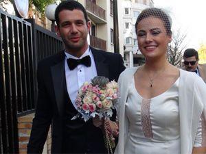 Keremcem ile Seda Güven evlendi.
