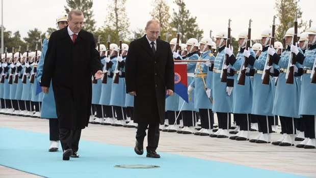 Putin'in Ankara ziyareti 1