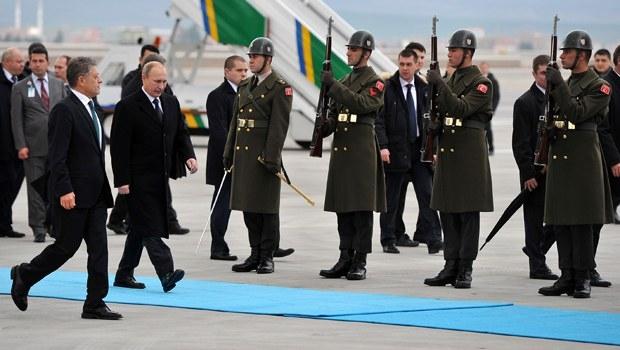 Putin'in Ankara ziyareti 4
