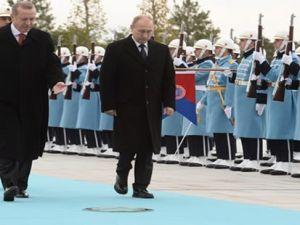 Putin'in Ankara ziyareti