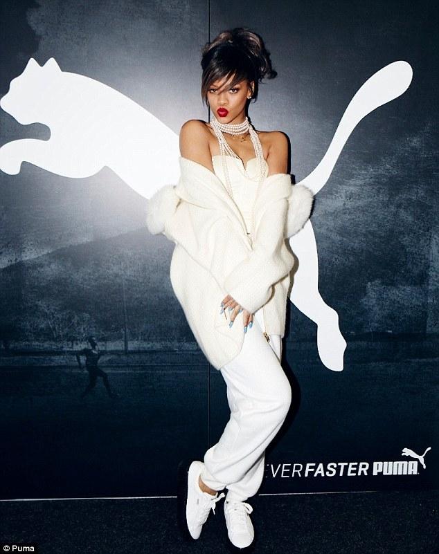 Rihanna, Puma'da işe başlayacak! 1