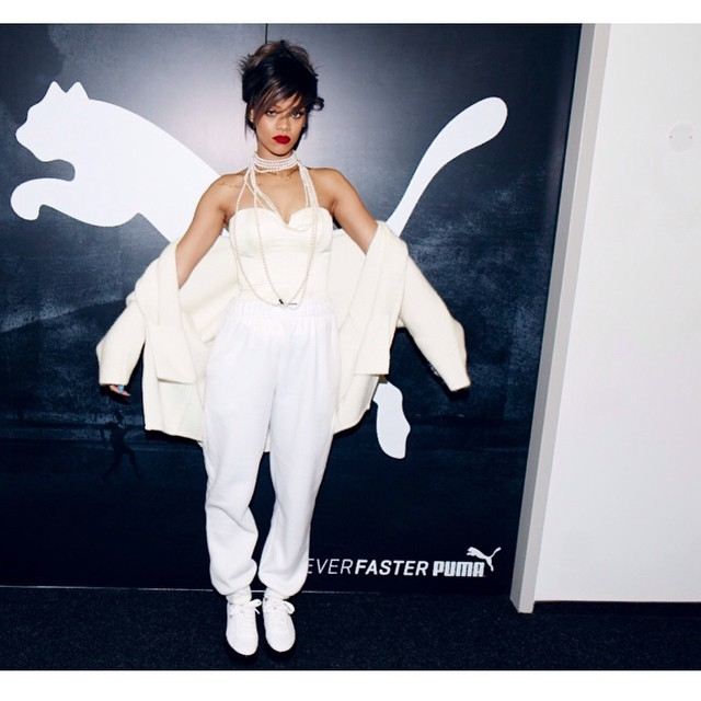 Rihanna, Puma'da işe başlayacak! 12