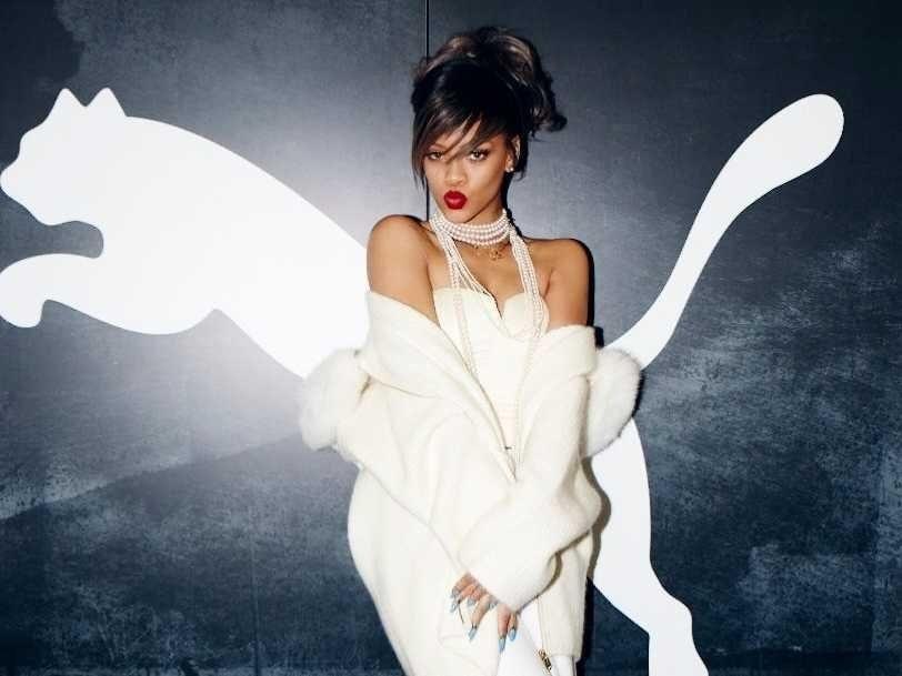 Rihanna, Puma'da işe başlayacak! 8