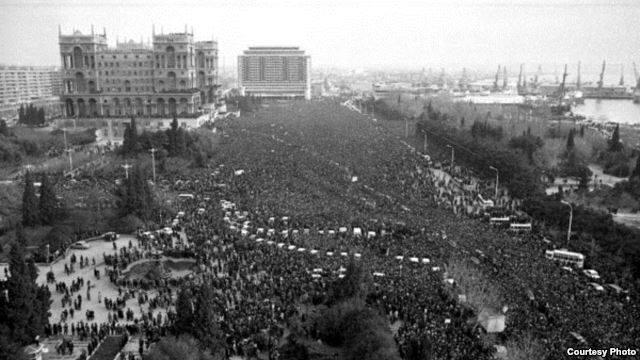 Azerbaycan'ın 20 Ocak Yas Günü 4