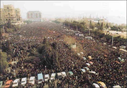 Azerbaycan'ın 20 Ocak Yas Günü 8