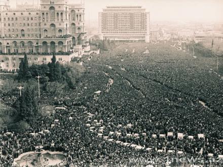 Azerbaycan'ın 20 Ocak Yas Günü 9