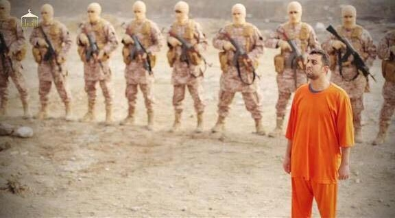 IŞİD'den insanlık dışı vahşet! Yakarak öldürdüler 1