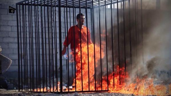 IŞİD'den insanlık dışı vahşet! Yakarak öldürdüler 3