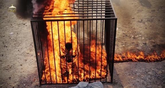 IŞİD'den insanlık dışı vahşet! Yakarak öldürdüler 4