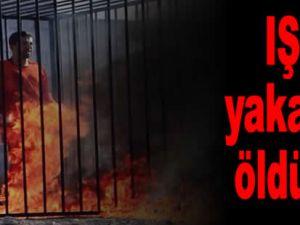 IŞİD'den insanlık dışı vahşet! Yakarak öldürdüler