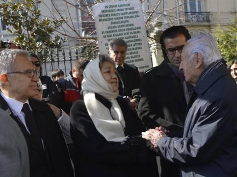 Yaşar Kemal böyle uğurlandı! 11