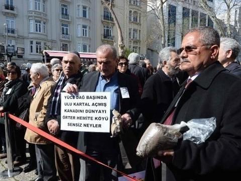 Yaşar Kemal böyle uğurlandı! 2