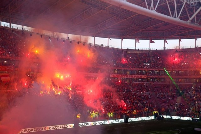Galatasaray şampiyonluk kupasını aldı! 11