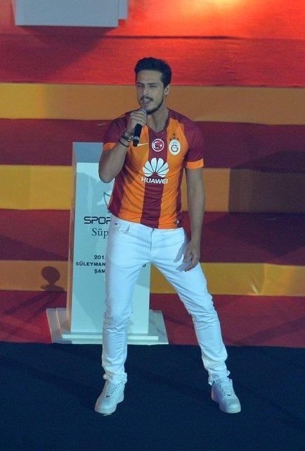 Galatasaray şampiyonluk kupasını aldı! 7